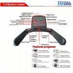 Treadmill Elektrik AC semi komersil TL-26 ( Big Treadmill )
