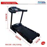 Treadmill Elektrik TL-22AC ( Big Treadmill Auto Incline )