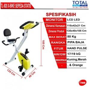Sepeda Statis X Bike Sandaran TL-920