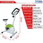 Sepeda Statis Magnetic Bike TL-8219