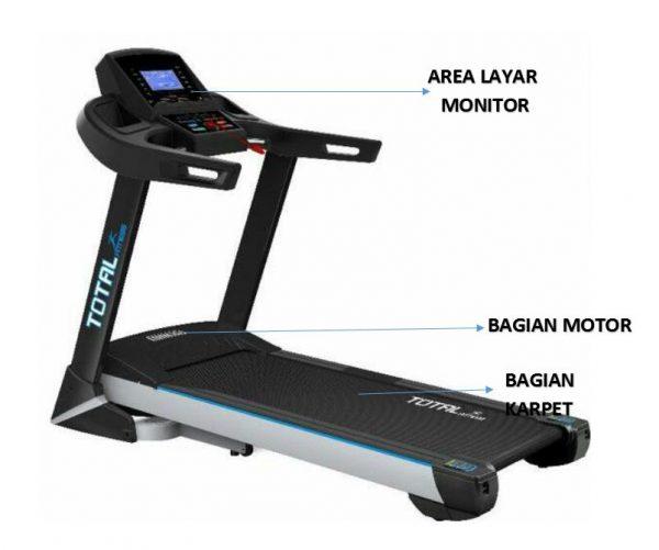 cara supaya treadmill awet
