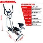 Elliptical Bike Crosstrainer – Sepeda Statis
