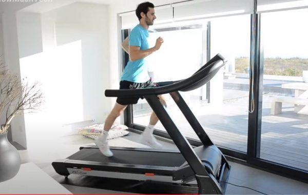 berolah raga dengan treadmill
