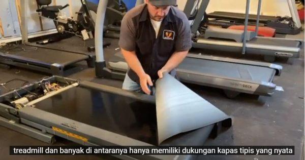 karpet treadmill sobek