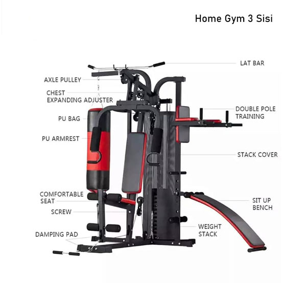 idachi home gym