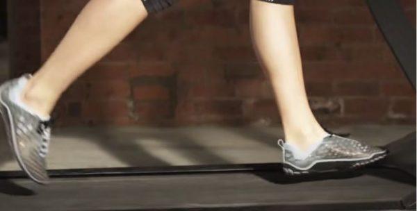 Sepatu untuk treadmill