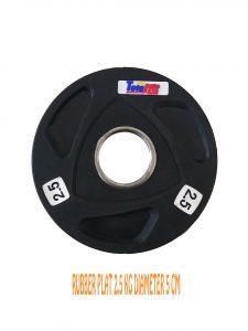 plat rubber 2.5 kg