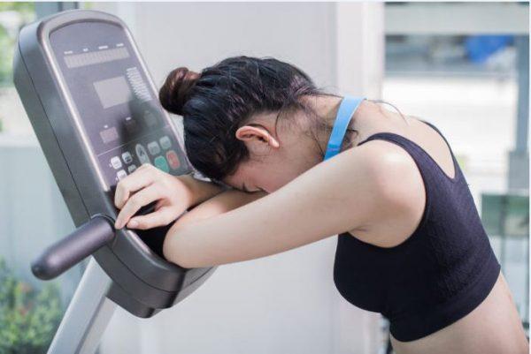 kelelahan karena treadmill