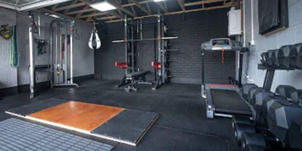 buat gym di rumah
